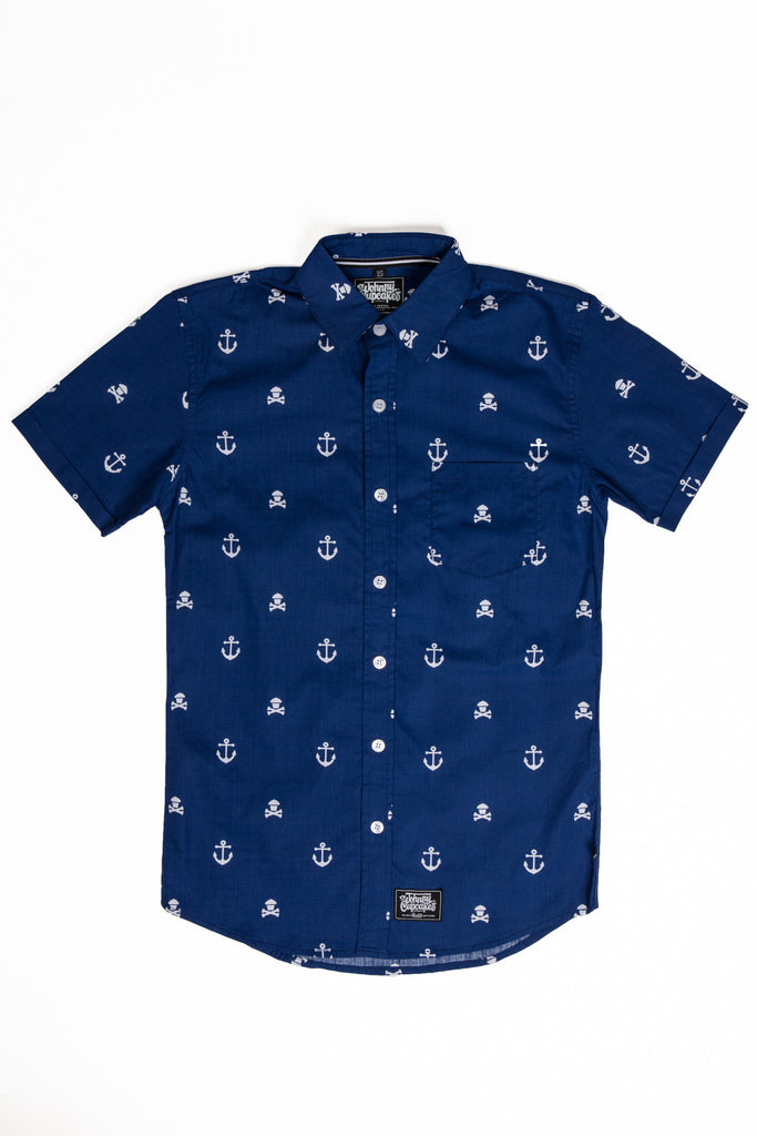 Anchor Button Up