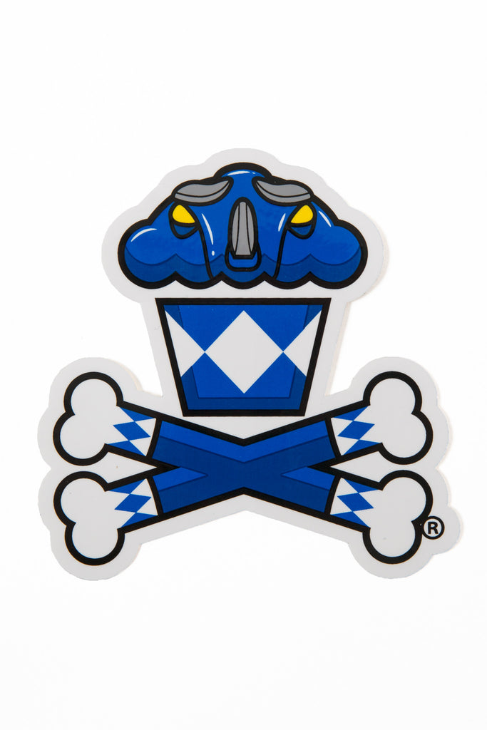 Power Rangers Blue Ranger Sticker