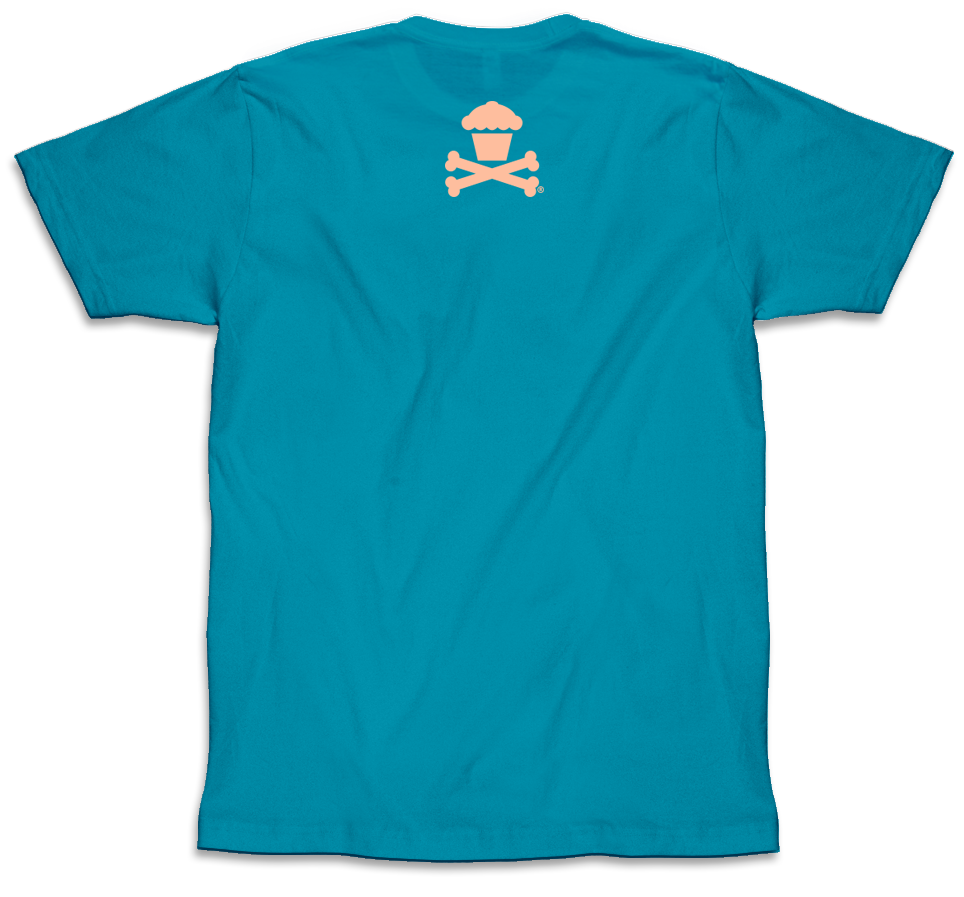Mini Crossbones (Bondi Blue)