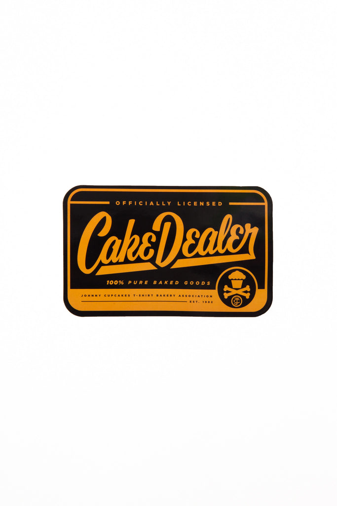 Cake Dealer Sticker