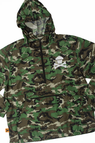 Bones Crew Windbreaker Jacket (Camo)