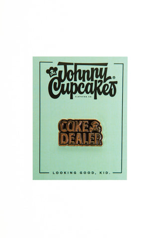 Cake Dealer Enamel Pin