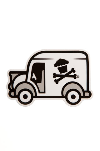 Delivery Truck Sticker