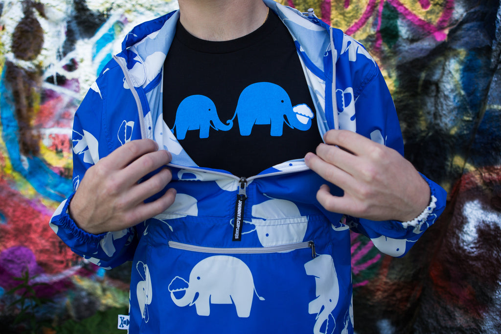 Elephant Windbreaker Jacket