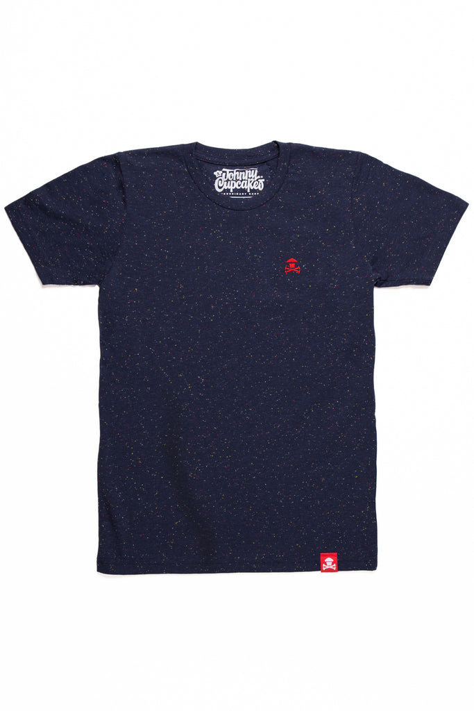 Embroidered Crossbones (Navy)