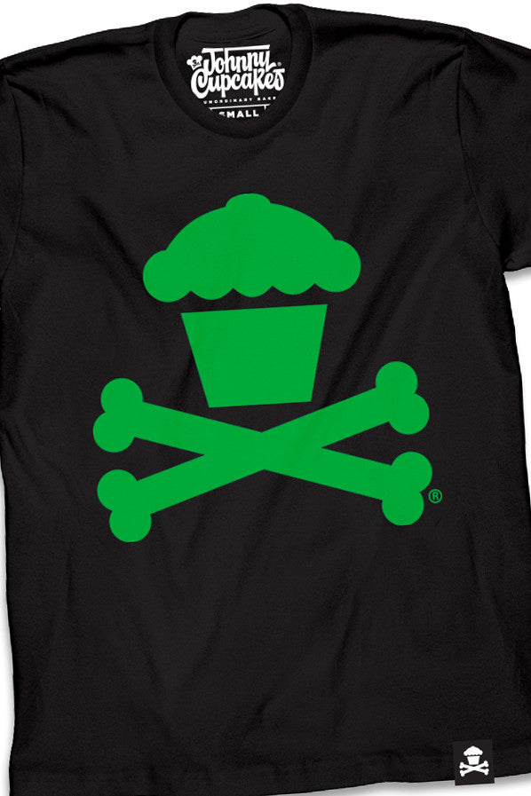 Black/Green Crossbones