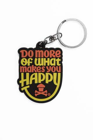 Happiness Keychain (Orange/Yellow)