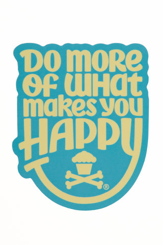 Happiness Sticker (Blue/Yellow)