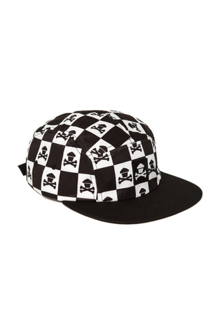Checkered Crossbones 5 Panel