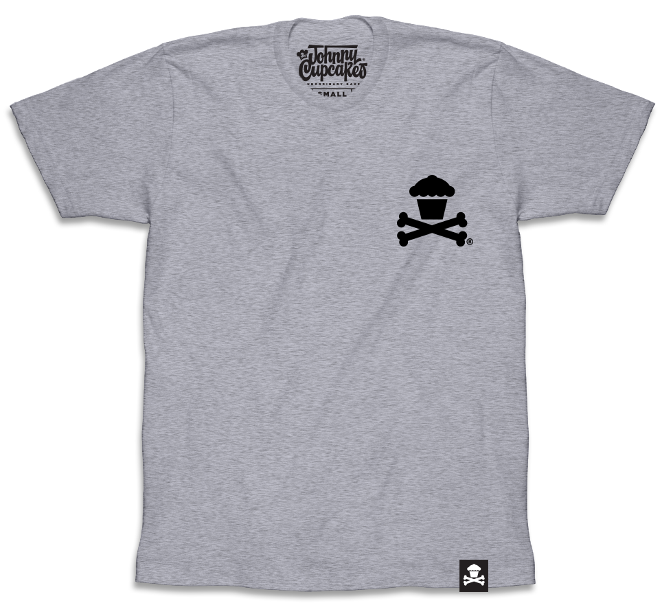 Mini Crossbones (Heather Grey)