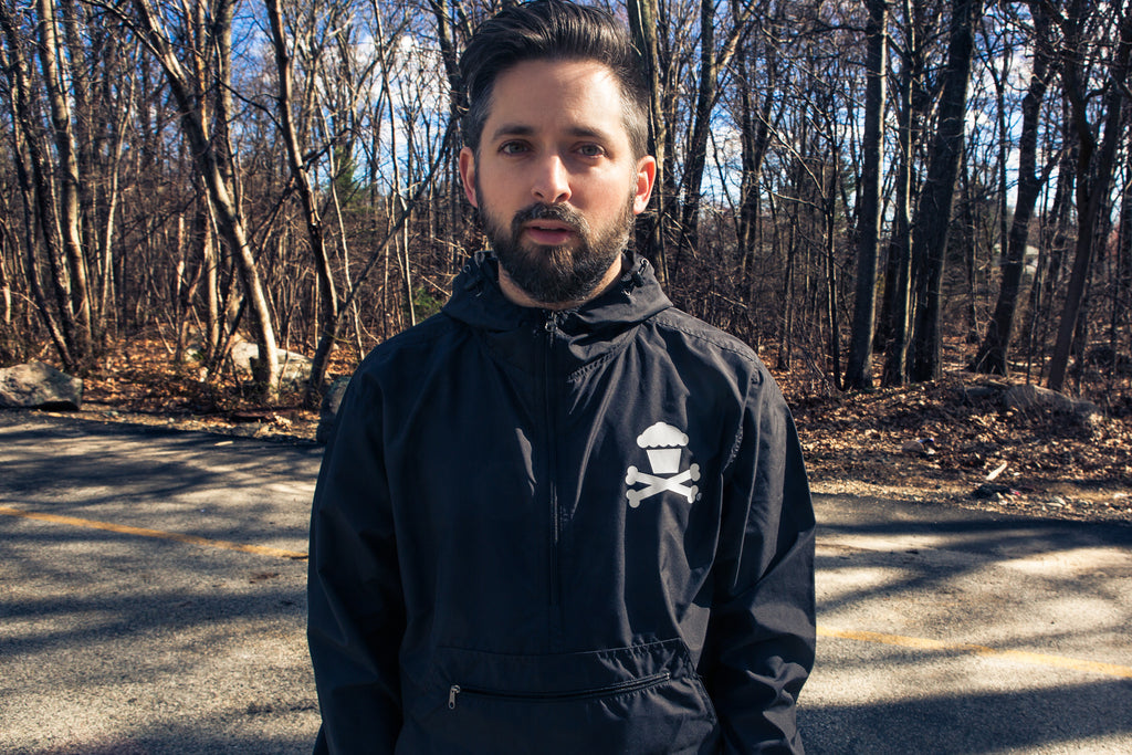 Bones Crew Windbreaker Jacket (Black)