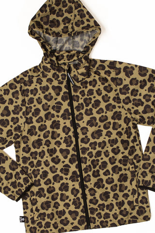Leopard Windbreaker Jacket