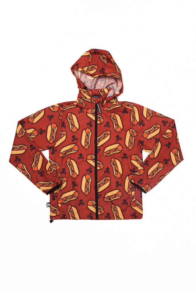 Hot Dog Windbreaker Jacket