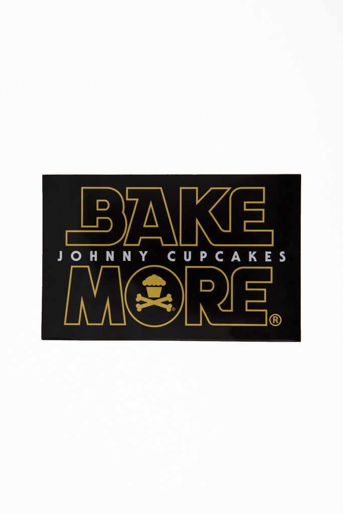 Bake More Returns Sticker