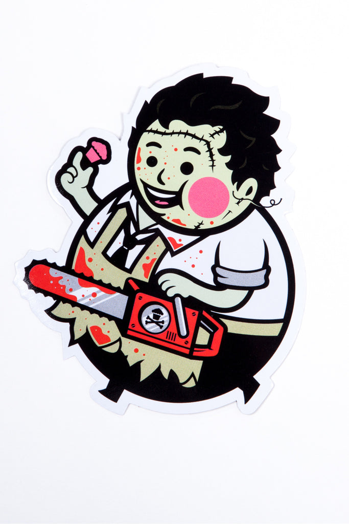 Big Kid Chainsaw Sticker