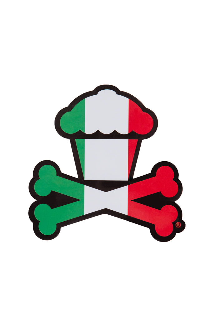Italy Crossbones Sticker