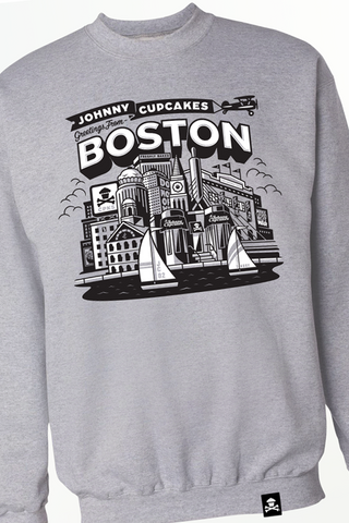 Boston Skyline Crewneck