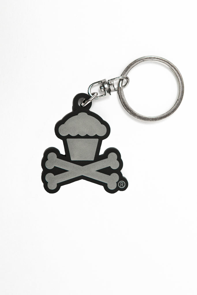 Glow In The Dark Crossbones Keychain