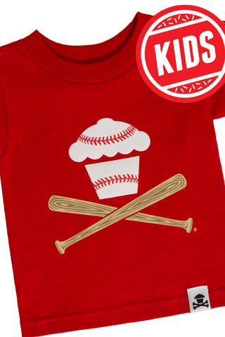 Baseball Crossbones Kids