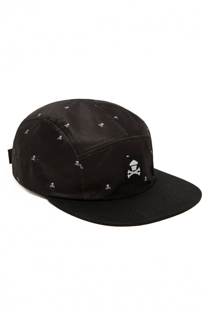 Mini Crossbones Patterned 5 Panel