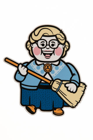Nanny Big Kid Sticker