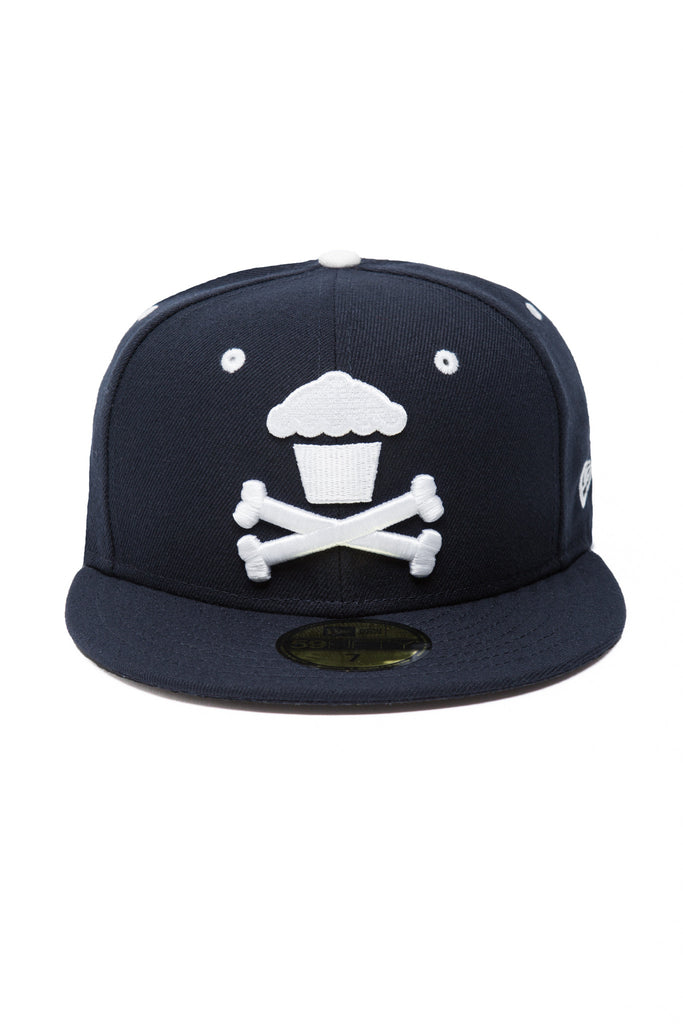 Crossbones Fitted (Navy)