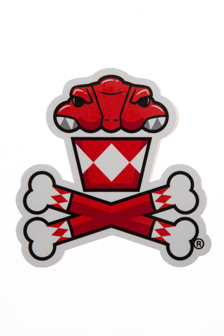 Power Rangers Red Ranger Sticker