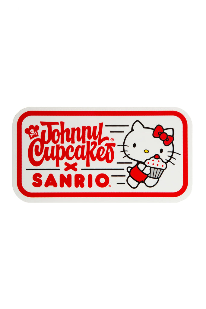 Running Hello Kitty Sticker