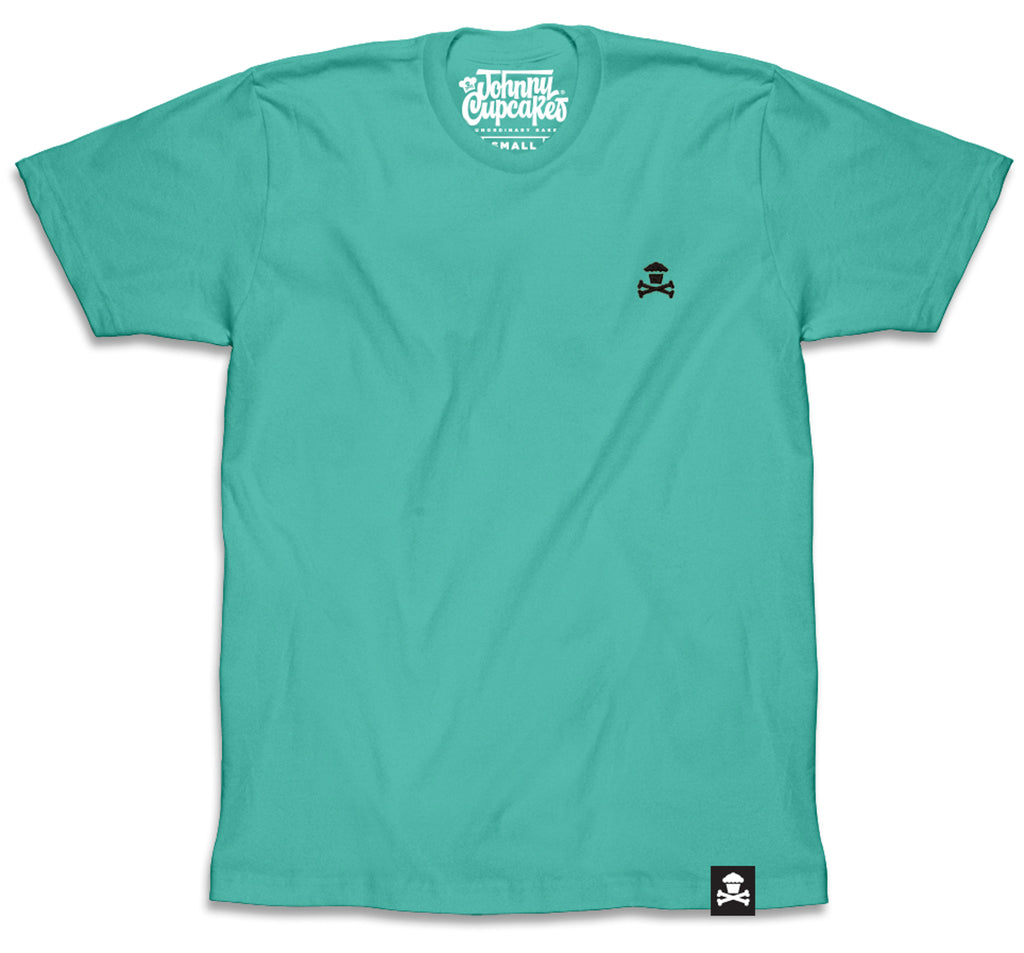 Embroidered Crossbones (Teal)