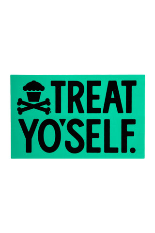 Treat Yo'self Sticker (Mint)