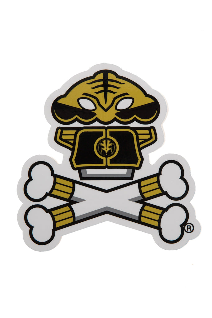 Power Rangers White Ranger Sticker