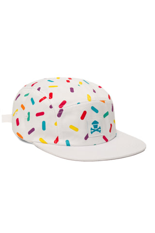 Rainbow Sprinkles 5 Panel (White)