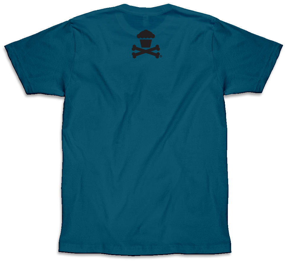 Crossbones (Deep Teal)