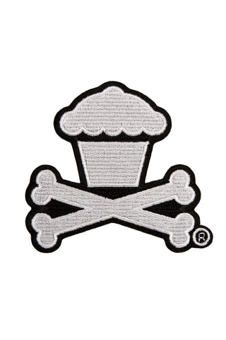 Classic Crossbones Embroidered Patch