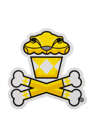 Power Rangers Yellow Ranger Sticker