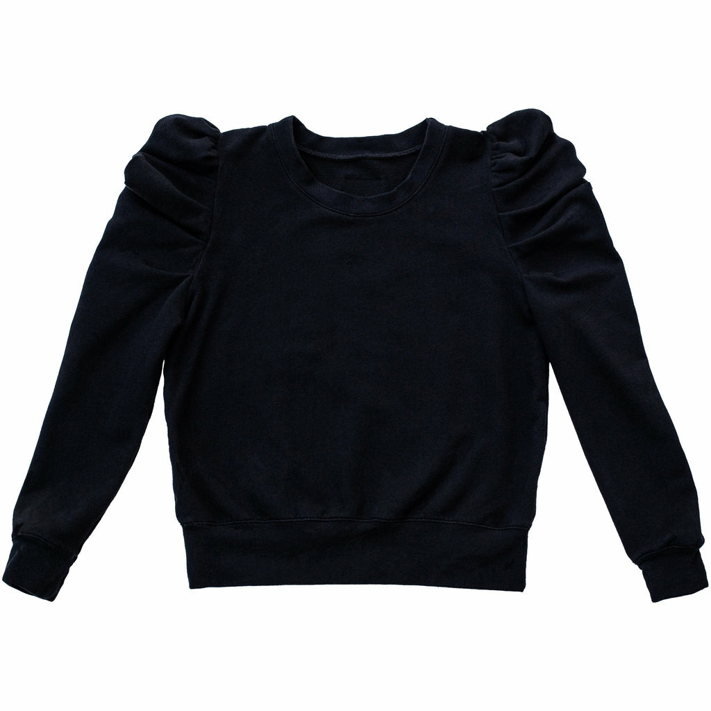 JOLIE PUFFY SLEEVE TOP BLACK - Be Mi Los Angeles