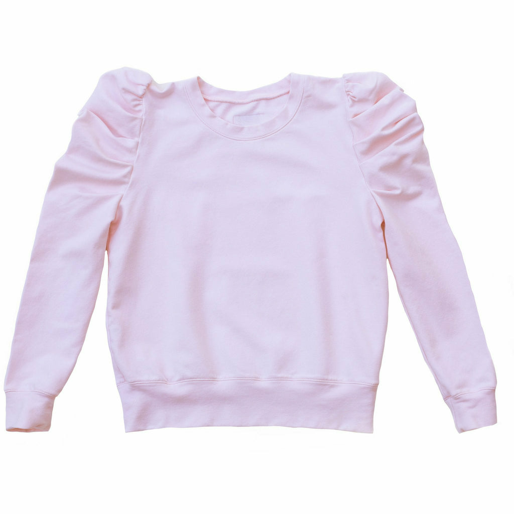 JOLIE PUFFY SLEEVE TOP PINK - Be Mi Los Angeles