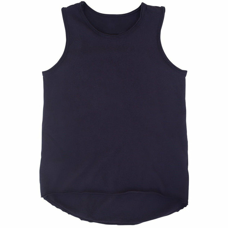 ASHER  BABY TANK NAVY - Be Mi Los Angeles