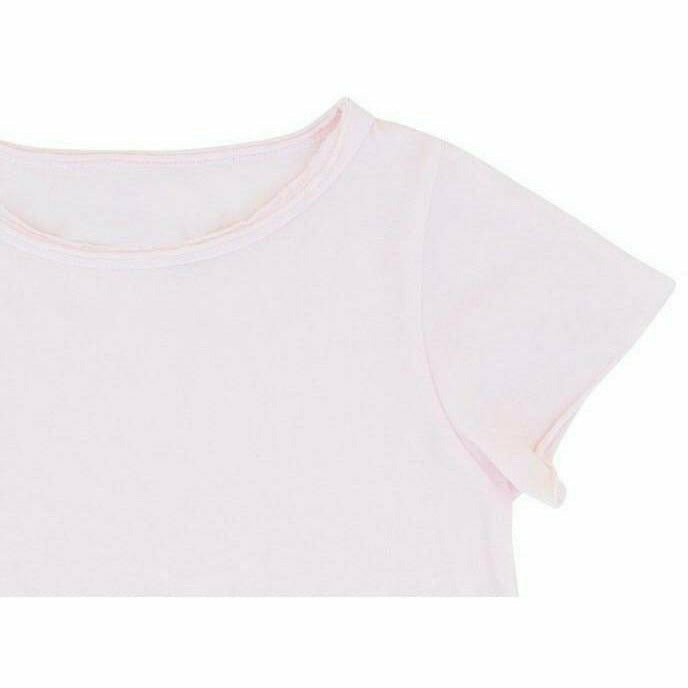 ASHER  BABY TEE PINK - Be Mi Los Angeles