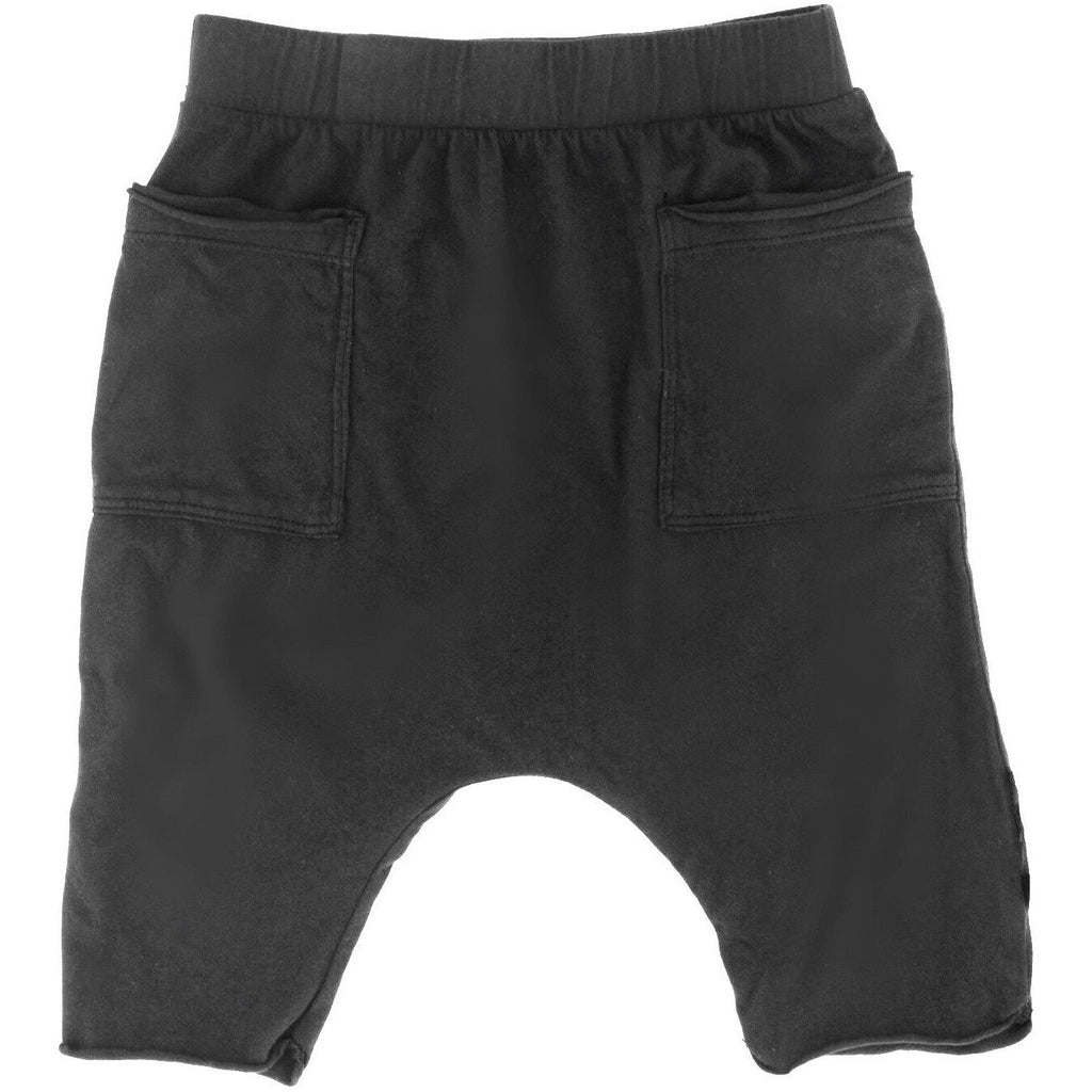 COTTON POCKET SHORTS BLACK - Be Mi Los Angeles