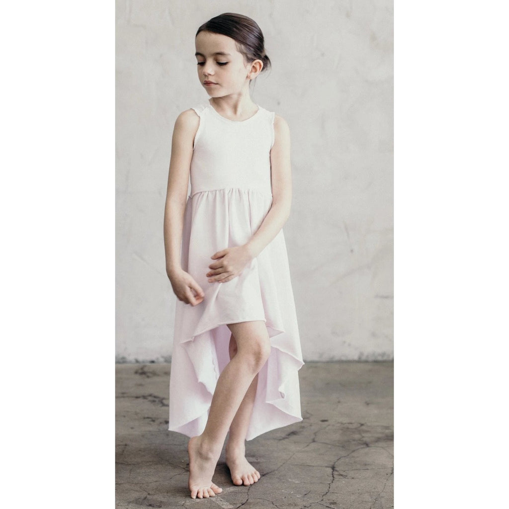 ORGANIC GISELLE DRESS PINK - Be Mi Los Angeles
