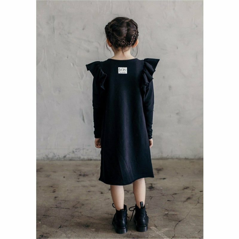 ORGANIC VALENTINA DRESS BLACK - Be Mi Los Angeles