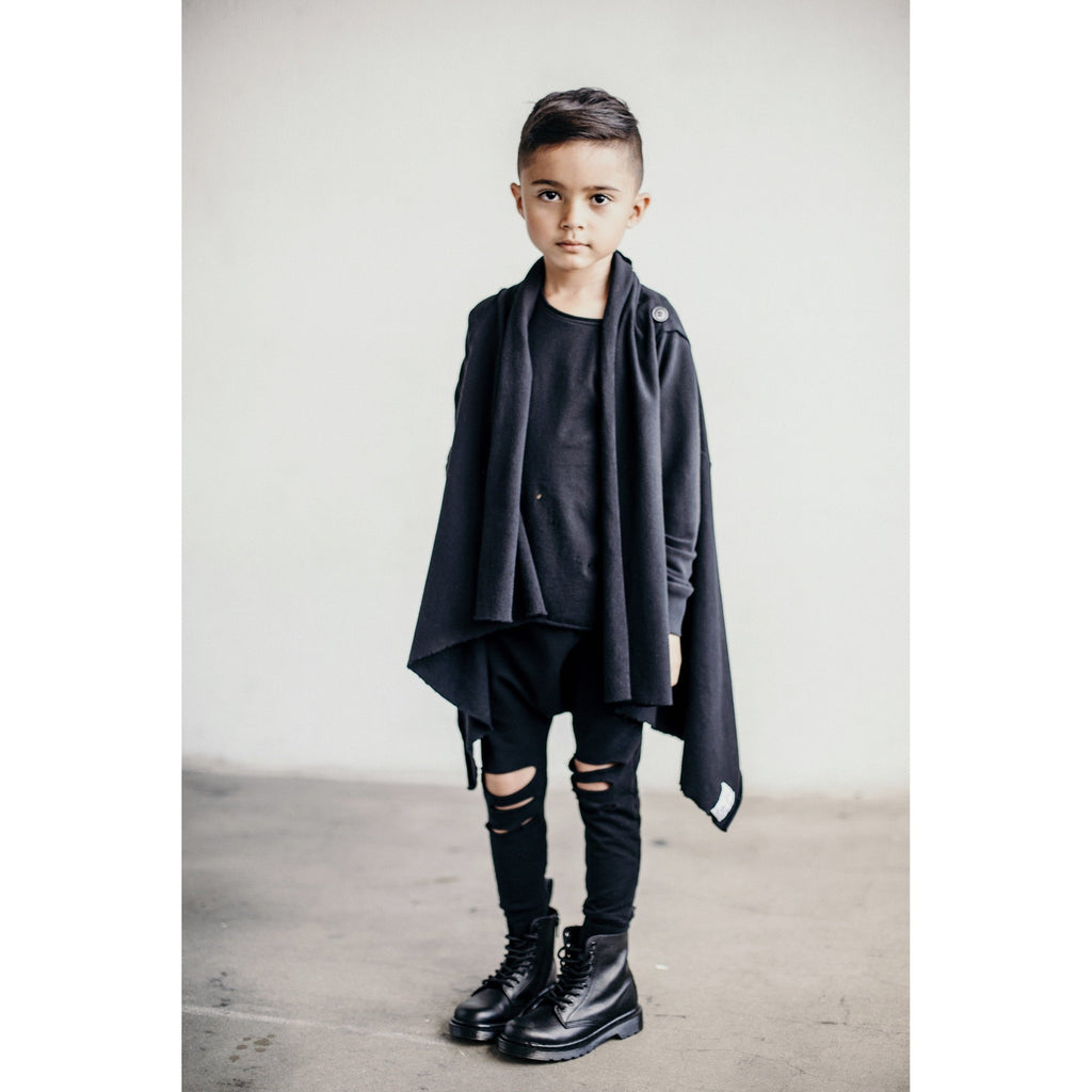 OVERSIZED CARDIGAN BLACK - Be Mi Los Angeles