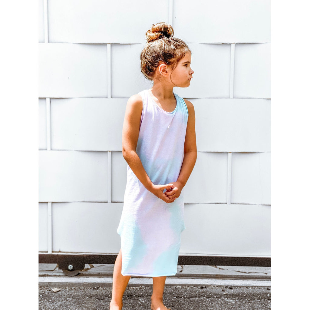 LEXI TANK DRESS COTTON CANDY - Be Mi Los Angeles