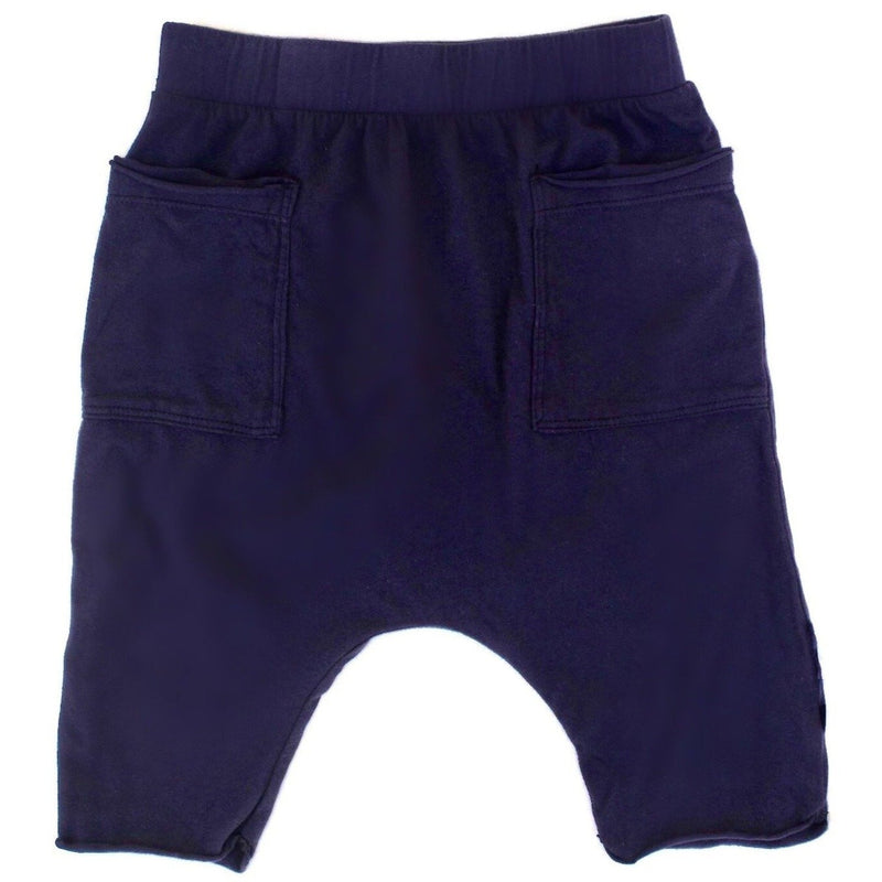 COTTON POCKET SHORTS NAVY - Be Mi Los Angeles