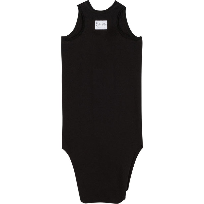 LEXI TANK DRESS BLACK - Be Mi Los Angeles