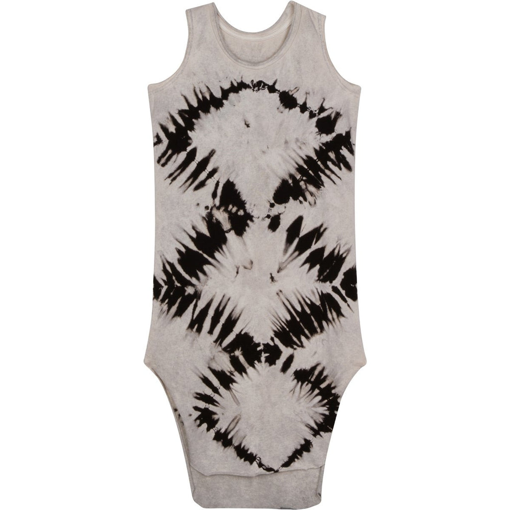 TANK MAXI DRESS ZEBRA LIGHT