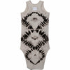 LEXI TANK DRESS ZEBRA LIGHT ADULT - Be Mi Los Angeles