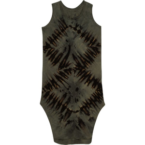 LEXI TANK DRESS ZEBRA DARK - Be Mi Los Angeles