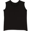 RAW EDGE TANK TOP BLACK - Be Mi Los Angeles